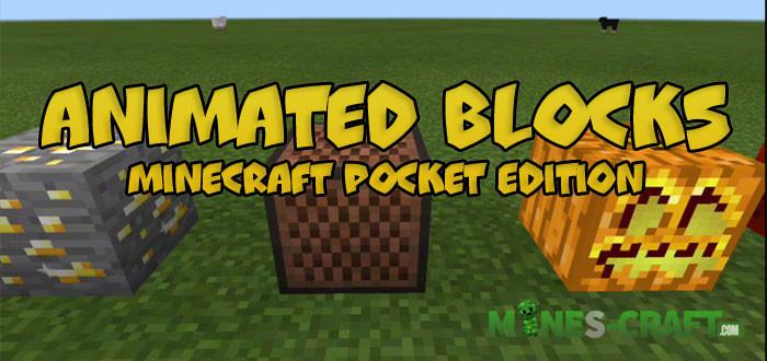 Animated Blocks Texture Pack