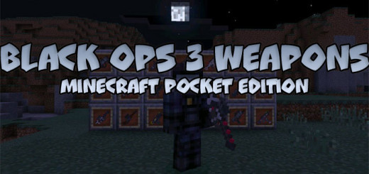 Black Ops 3 Weapons Mod MCPE