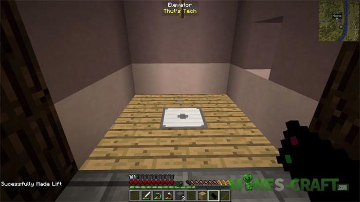 Thut's Elevators Mod Minecraft