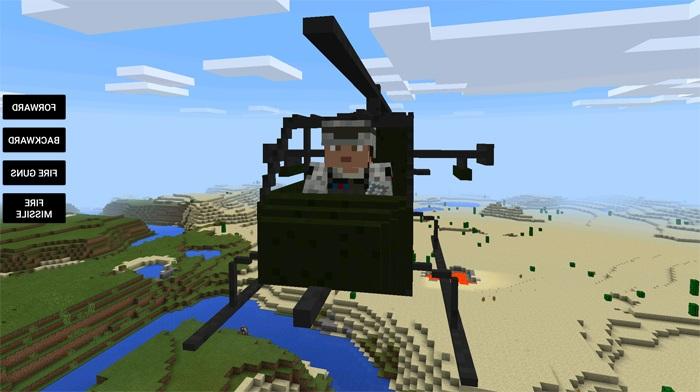 minecraft pe мод на транспорт #9