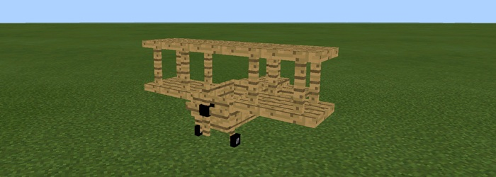 Mech mod for Minecraft PE