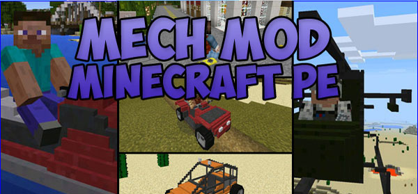 Mech mod for Minecraft PE 0 15 0-0 15 10 | | Mines-Craft com
