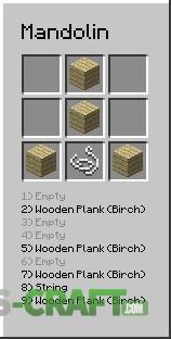 mxTune Mod [Minecraft 1.10.2] crafting recipes