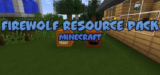 Firewolf Resource Pack [Minecraft 1.9/1.10.2]