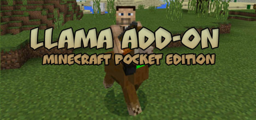Llama Add-on [Minecraft PE 0.16.0]