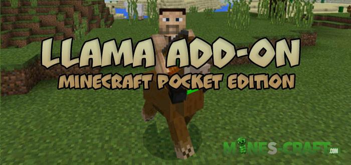 Llama Add-on [Minecraft PE 0.16.0]