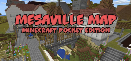 Mesaville map [Minecraft PE 0.15/0.16.0]