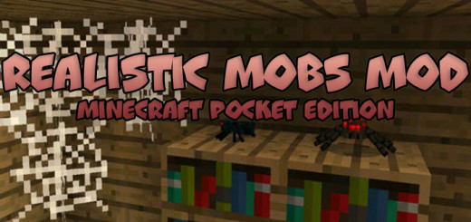 Realistic Mobs Mod [MCPE 0.16.0]