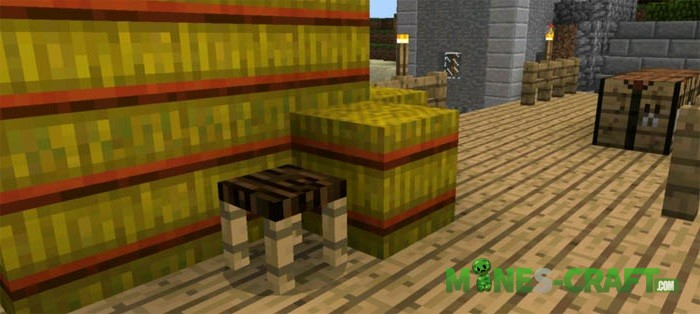 More Chairs Mod [MCPE 0.16.0]More Chairs Mod [MCPE 0.16.0]