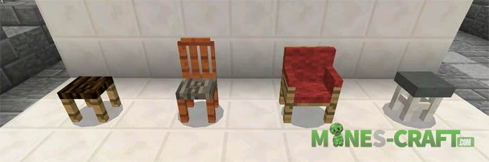 More Chairs Mod [MCPE 0.16.0]