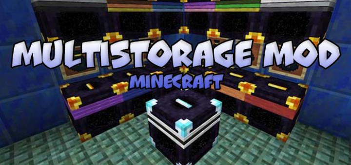 MultiStorage Mod [Minecraft 1.9.4/1.10.2]