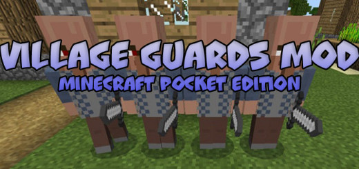 Village Guards Mod [Minecraft PE 0.16.0]