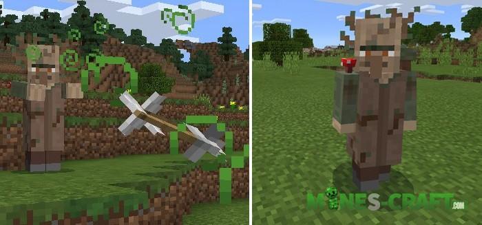 5 New Bosses Add-on [Minecraft PE 0.17.0]