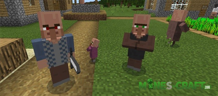Village Guards Mod [Minecraft PE 0.16.0]