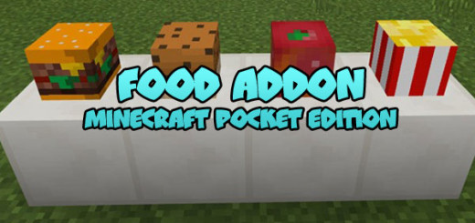 Food Addon [Minecraft PE 0.17.0]Food Addon [Minecraft PE 0.17.0]