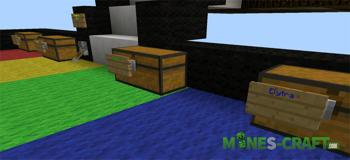 Elytra Minigame map [MCPE 0.17.0]
