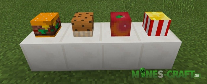 Food Addon [Minecraft PE 0.17.0]
