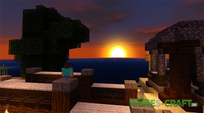 SSPE Shader pack Minecraft PE