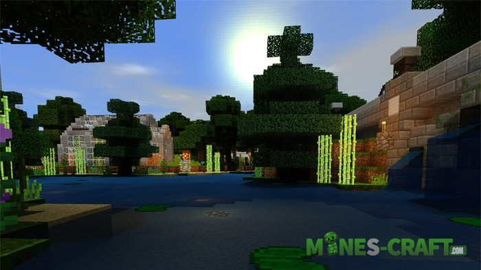 SSPE Shader pack [Minecraft PE 1.0.4.1]