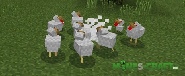 Angry Chicken Addon [Minecraft PE 1.1+]