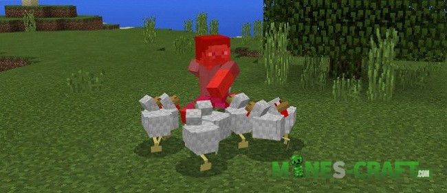 Angry Chicken Addon [Minecraft PE]