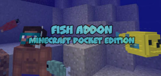 Fish Addon [MCPE 1.1+]