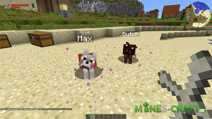 Doggy Talents Mod Minecraft