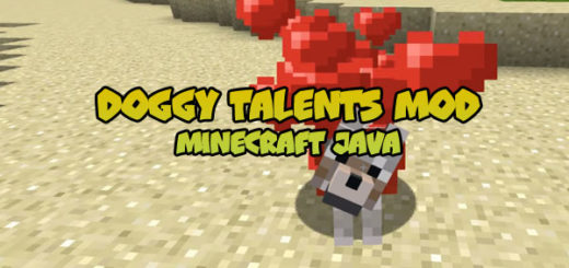 Doggy Talents Mod [Minecraft Java 1.12]