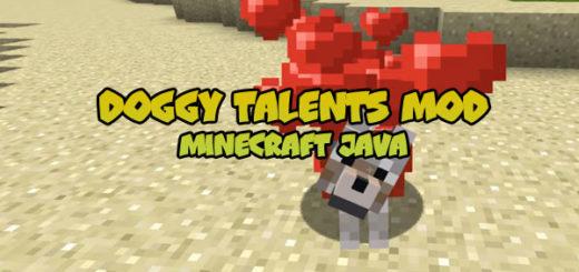 Doggy Talents Mod [Minecraft Java 1.12]