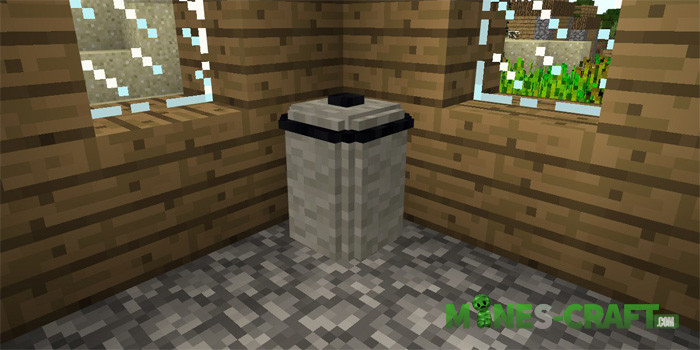 Furniture addon Minecraft PE