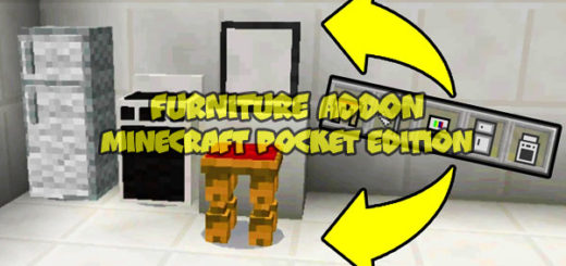 Furniture addon Minecraft PE