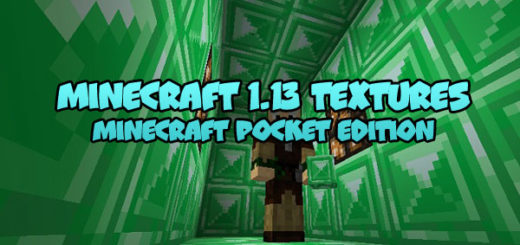 Minecraft 1.13 to Minecraft PE 1.1