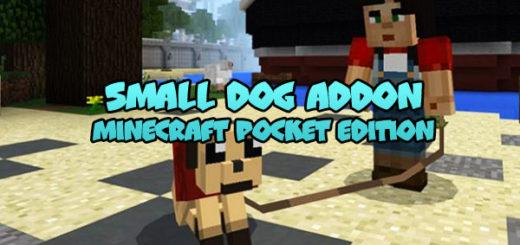 Small Dog Addon [Minecraft PE 1.1+]