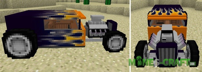 Car Pack [Minecraft PE 1.1+]