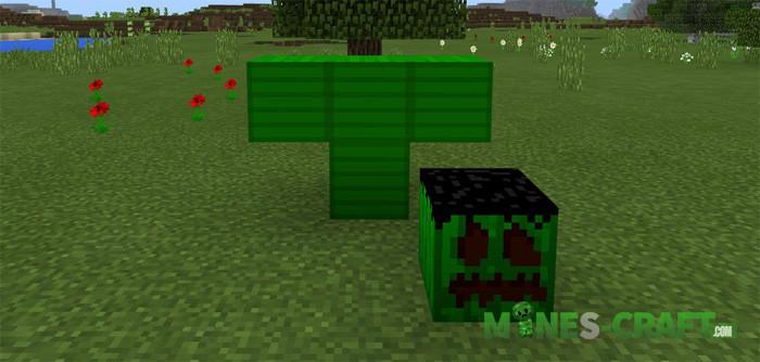 Comic characters addon Minecraft PE