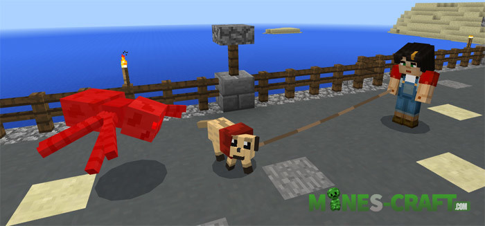Small Dog Addon Minecraft PE