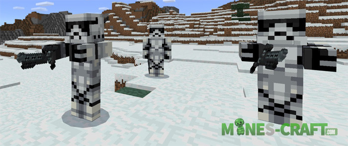 Star Wars Addon Minecraft PE