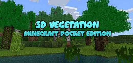 3D Vegetation Minecraft PE