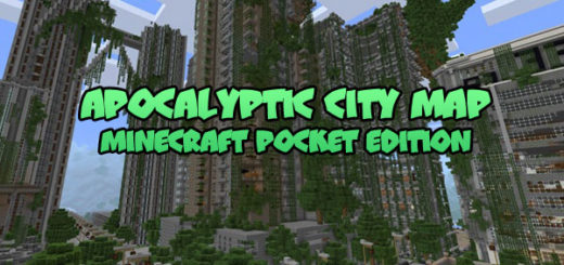 Apocalyptic City Map MCPE