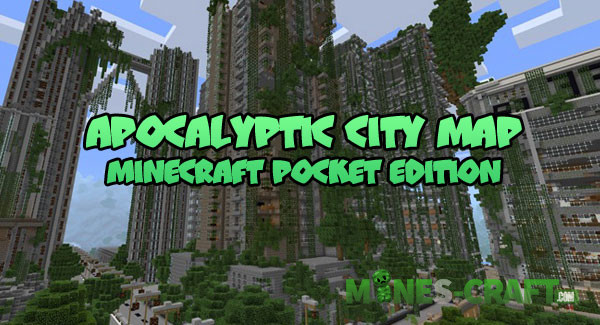 Apocalyptic City Map [MCPE 1 2] | | Mines-Craft com