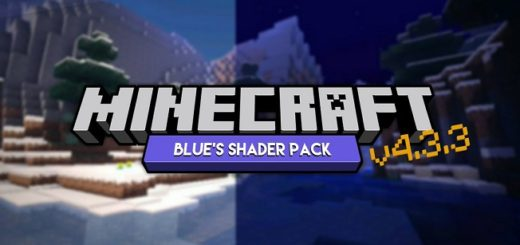 Blue's Shaders Minecraft PE