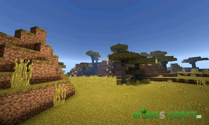 Blue's Shaders Minecraft PE