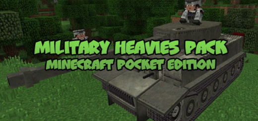 Military Heavies Pack [Minecraft PE]