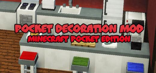 Pocket Decoration Mod [Minecraft PE]