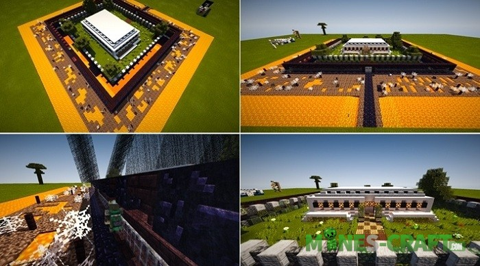 Tech Bunker Map Minecraft