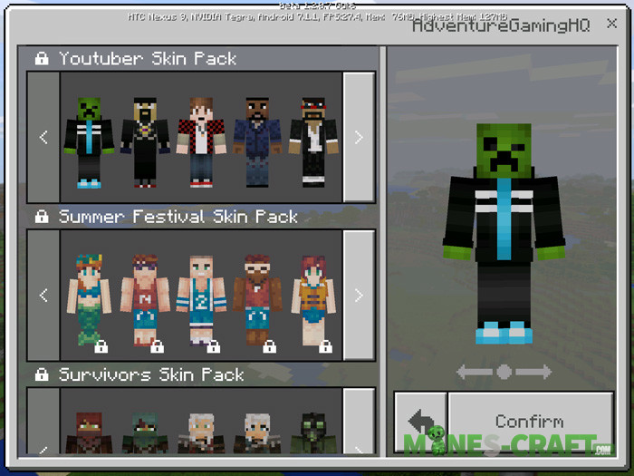 Skin-packs-Collection minecraft pe