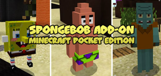 SpongeBob Addon Minecraft PE
