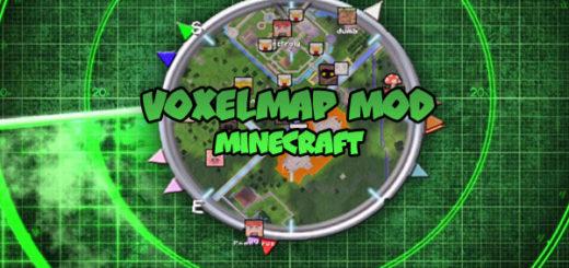 VoxelMap Mod Minecraft