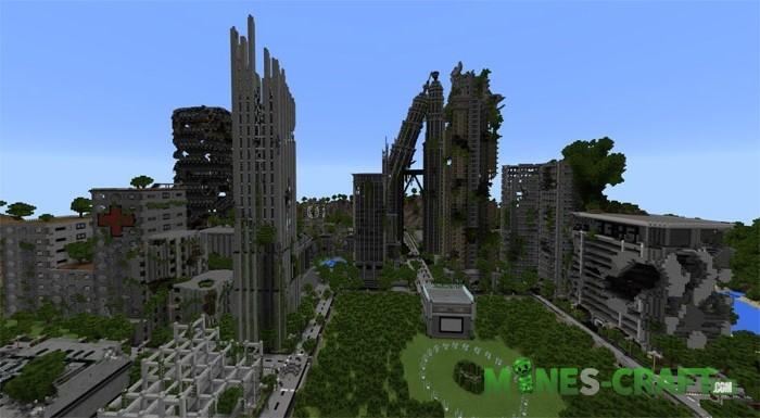 Apocalyptic City Map MCPE