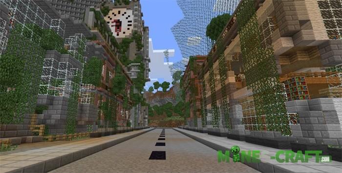 Apocalyptic City Map MCPE 1.2